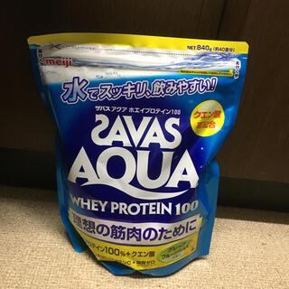 ザバス(SAVAS)のザバスアクア 840g  グレープフルーツ味(プロテイン)