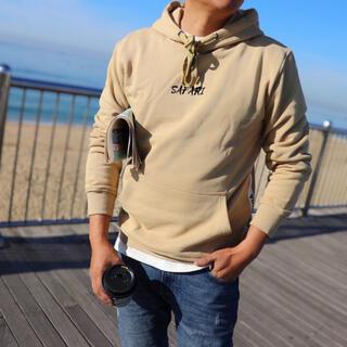 ルーカ(RVCA)の西海岸系 LUSSO SURF テープ刺繍パーカー Mサイズ RVCA(パーカー)