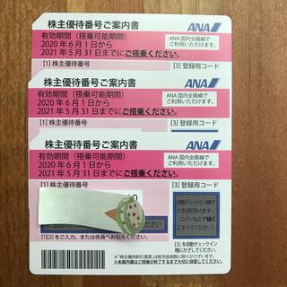 ANA 株主優待券 3枚(その他)