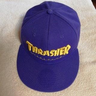 スラッシャー(THRASHER)のスラッシャー キャップ(紫)フラットバイザー(キャップ)