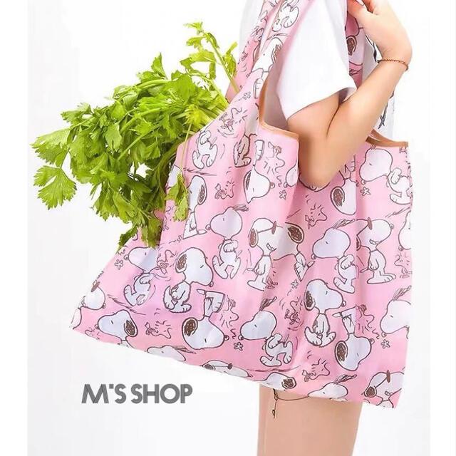 HYSTERIC MINI(ヒステリックミニ)のエコバッグ 新品未使用品 必須アイテム ヒスミニ  ピンク 海外製品 レディースのバッグ(エコバッグ)の商品写真