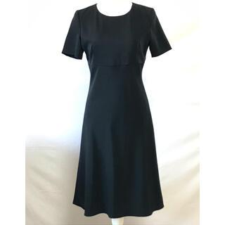 アールユー(RU)の美品アールユー、シンプルな喪服ワンピース、サイズ9号、M。RU(礼服/喪服)