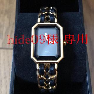 CHANEL - 【正規品】シャネル レディース腕時計 プルミエール L ゴールド