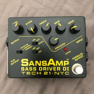 TECH21 サンズアンプ SansAmp BASS DRIVER DI(ベースエフェクター)