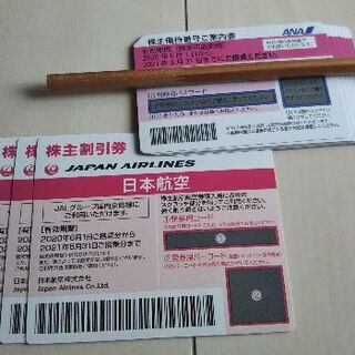 ANA JAL株主優待券 (2021/5/31まで)(その他)