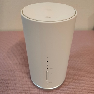 SPEED WiFi home l01s ホームルーター(その他)