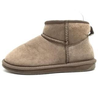 エミュー(EMU)のEMU(エミュ) レディース - グレーベージュ(ブーツ)