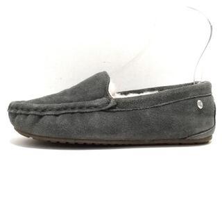 エミュー(EMU)のエミュ W6M5 レディース - ダークグレー(ローファー/革靴)