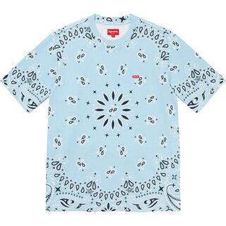 シュプリーム(Supreme)のSmall Box Tee Light Blue Bandana M(Tシャツ/カットソー(半袖/袖なし))