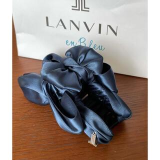 ランバンオンブルー(LANVIN en Bleu)のLanvin ランバン オンブルー ヘアクリップ(バレッタ/ヘアクリップ)
