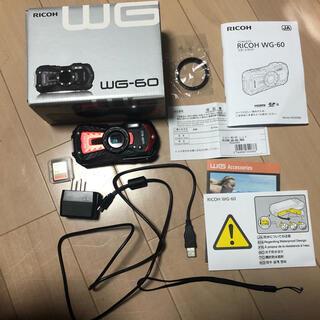 リコー(RICOH)のricoh wg-60 防水 デジタルカメラ(コンパクトデジタルカメラ)