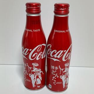 コカ・コーラ - コカコーラ 地域限定 博多 どんたく スリムボトル