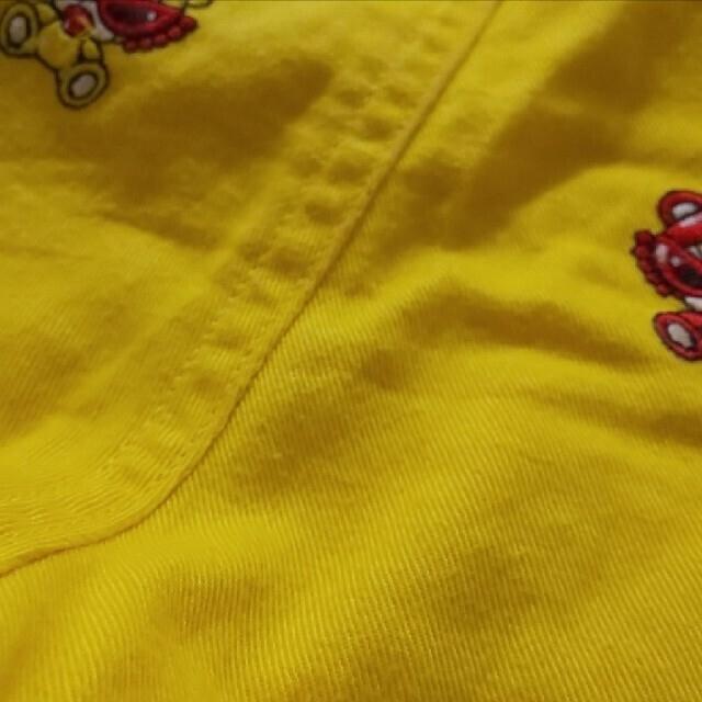 HYSTERIC MINI(ヒステリックミニ)のテディ 刺繍パンツ 110 キッズ/ベビー/マタニティのキッズ服女の子用(90cm~)(パンツ/スパッツ)の商品写真
