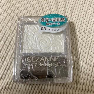 セザンヌケショウヒン(CEZANNE(セザンヌ化粧品))のセザンヌ パールグロウハイライト 03 オーロラミント(2.4g)(フェイスカラー)