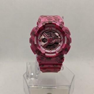 ベビージー(Baby-G)のG-SHOCK baby-G BA-110LP-4AJF 豹柄ピンク(腕時計(デジタル))