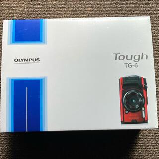 オリンパス(OLYMPUS)の【中古・美品】 値下げOLYMPUS Tough TG-6 ブラック (コンパクトデジタルカメラ)