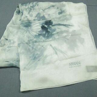 アルマーニ コレツィオーニ(ARMANI COLLEZIONI)のアルマーニコレッツォーニ美品  - シルク(バンダナ/スカーフ)