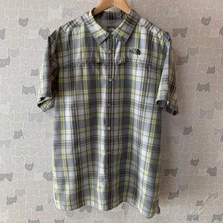THE NORTH FACE - USA規格ノースフェイス Yシャツ 背中ベンチレーション XL オーバーサイズ