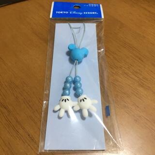 ミッキーマウス(ミッキーマウス)のディズニー携帯アクセサリー(ストラップ/イヤホンジャック)