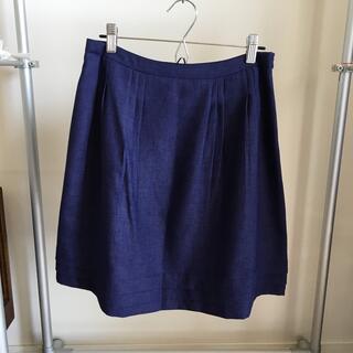グローブ(grove)の【grove】M ヒザ上夏用スカート(ミニスカート)
