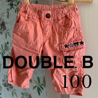 DOUBLE.B - ⭐️DOUBLE.Bダブルビー⭐️ハーフパンツ 100