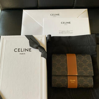 celine - CELNE   セリーヌ 財布 トリオンフ 三つ折り ウォレット
