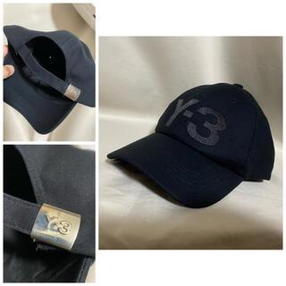 Y-3 - Y-3 2020AW ロゴ刺繍 ベースボールキャップ ブラック ヨウジヤマモト