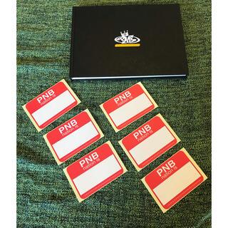 ピーエヌビーネイション(PNB Nation)のPNB nation スケッチブック ステッカー枚 90s Blackbook(スケッチブック/用紙)