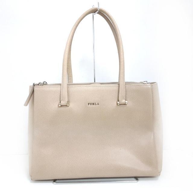 Furla(フルラ)のFURLA(フルラ) - ベージュ レザー レディースのバッグ(トートバッグ)の商品写真