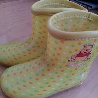 ディズニー(Disney)のプーさん♡レインブーツ長靴(長靴/レインシューズ)
