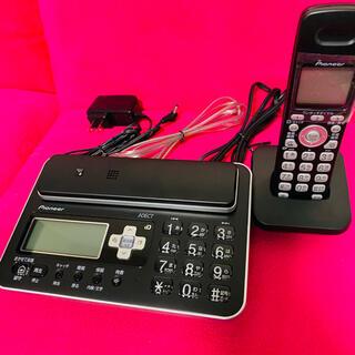 パイオニア(Pioneer)のコードレス電話機  TF-FA70W-k 子機付き パイオニア(その他)