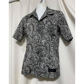 イサムカタヤマバックラッシュ(ISAMUKATAYAMA BACKLASH)の定価34200円 BACKLASH リザード リバティプリントシャツ(シャツ)