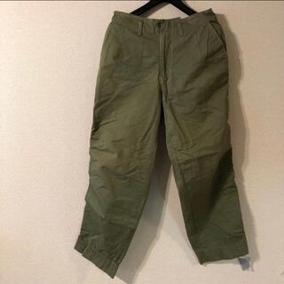 kolor - kolor パッカリングパンツ サイズ1 オリーブ