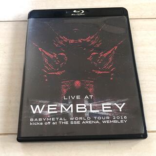 ベビーメタル(BABYMETAL)の「LIVE AT WEMBLEY」BABYMETAL WORLD TOUR 20(ミュージック)