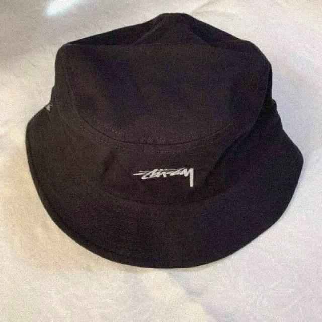 STUSSY(ステューシー)の日本未入荷 STUSSY バケットハット ブラック メンズの帽子(ハット)の商品写真