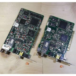 エヌイーシー(NEC)のキャプボ「SmartVision HG2/R」「HG2」2枚 動作品【送料込】(PCパーツ)