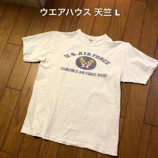 ウエアハウス(WAREHOUSE)のLサイズ!ウエアハウス 古着半袖Tシャツ U.S.AIRFORCE ミリタリー (Tシャツ/カットソー(半袖/袖なし))