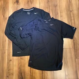 ナイキ(NIKE)の【NIKE】ナイキ ドライフィット ロンT Tシャツ 2枚セット DRY FIT(Tシャツ/カットソー(半袖/袖なし))