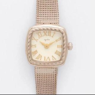 agete - 現行品 agete アガット腕時計 スクエアフェイスウォッチ◡̈ ✧*。