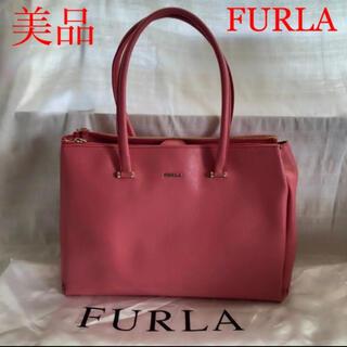 Furla - FURLA フルラ ハンドバッグ ロータス 肩掛け ショルダー ピンク