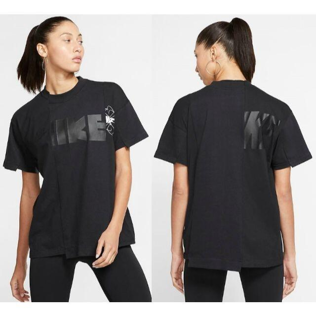 sacai(サカイ)のsacai NIKE ハイブリッドTシャツ ホワイト size:XS  メンズのトップス(Tシャツ/カットソー(半袖/袖なし))の商品写真
