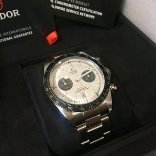 Tudor - チューダー TUDOR 79360N ホワイト Black Bay Chrono