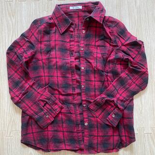 エムドゥー(M.deux)のチェックシャツ(シャツ)