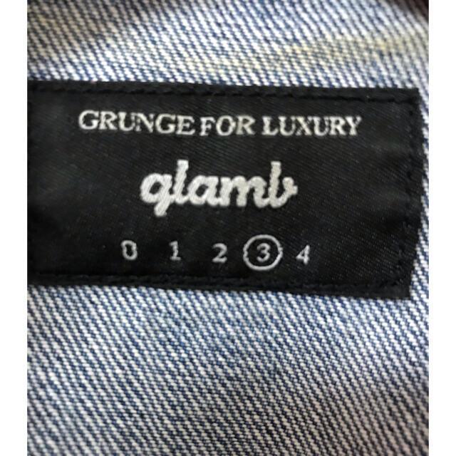 glamb(グラム)の【glamb】デニムジャケット【Lサイズ】 メンズのジャケット/アウター(Gジャン/デニムジャケット)の商品写真