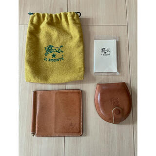 IL BISONTE - イルビゾンテ 財布 マネークリップ コインケース