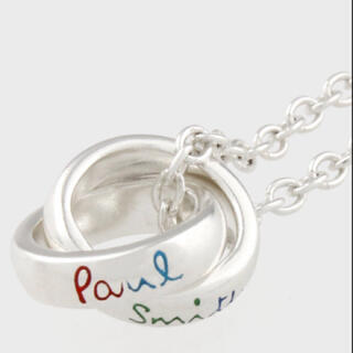 Paul Smith - ポールスミス ダブルリング ネックレス