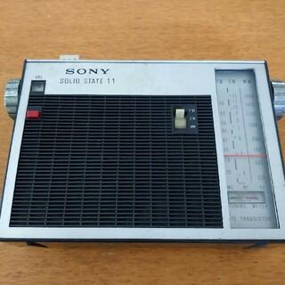 ソニー(SONY)のソニー ラジオ TFM-110F(ラジオ)