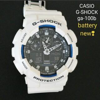 G-SHOCK - 【結構美品/電池新品】CASIO G-SHOCK GA-100B 腕時計