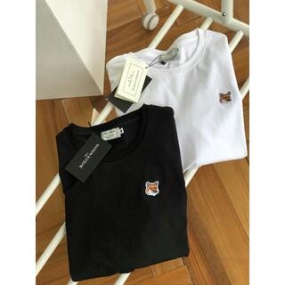 MAISON KITSUNE' - 【新品】MAISON KITSUNE メゾンキツネ Tシャツ 黒 白 2点セット