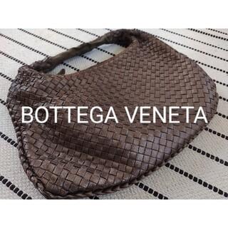 Bottega Veneta - BOTTEGA VENETA ワンショルダーバッグ レザー ブロンズ